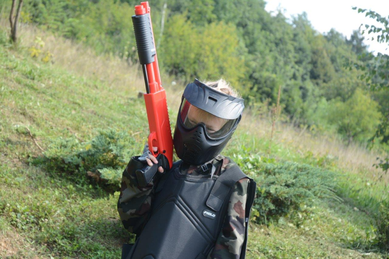 paintball otroci